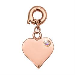 Love It Is Rose Gold Charm