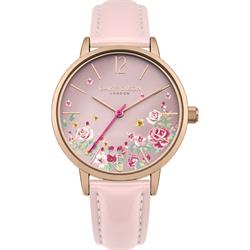 Summer Pink Floral Watch
