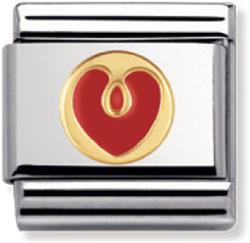 Buy Nomination Red Enamel Love Heart