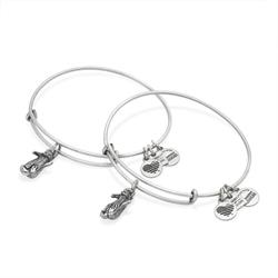 Side by Side Otter Set of 2 in Rafaelian Silver