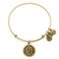 O Initial Bangle in Rafaelian Gold