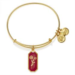 Alex and Ani Medieval Blessing Marigold in Shiny Gold Finish