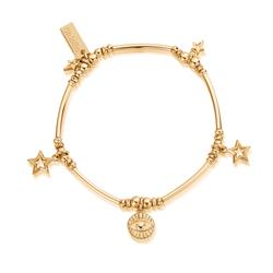 Yellow Gold Stargaze Bracelet