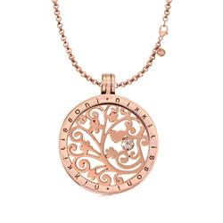 Tree of Love Rose Gold Necklace