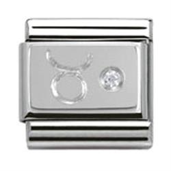 Buy Nomination Silver CZ Taurus