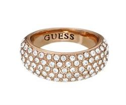 Guess Sale Circles of Life Rose Gold Ring 52