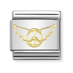 Gold Angel of Peace Charm