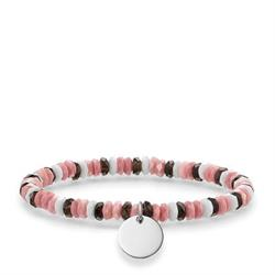 Pink Jasper Love Bridge Bracelet Medium