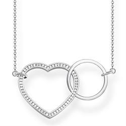 Large Forever Heart Necklace
