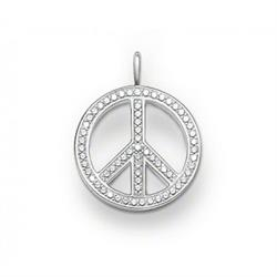 Glam and Soul Peace Sign Pendant