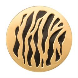 Nikki Lissoni Outlet Gold Spot The Tiger Medium Coin 33mm