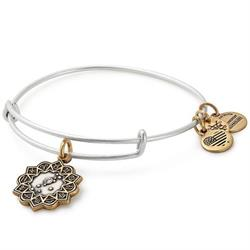 Taurus Two Tone Zodiac Bangle
