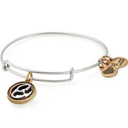 Buy Alex and Ani E Initial Two-Tone Bangle