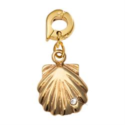 Seashell Gold Charm