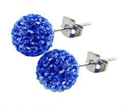 Candeur 8mm Blue Studs