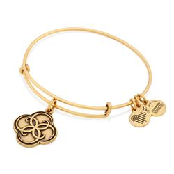 Breath of Life Bangle in Rafaelian Gold
