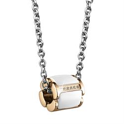 Gold Ceramic Stainless Steel Necklace