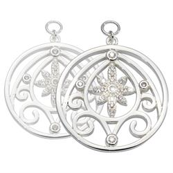 Buy Nikki Lissoni Silver Catching Stars Earring Coins