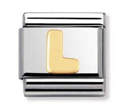 Buy Nomination Gold Letter L