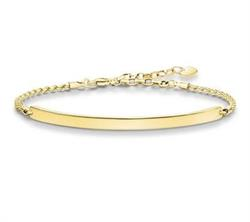 Buy Thomas Sabo Love Bridge Yellow Gold Bracelet Small