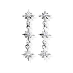 'Inner Spirit' North Star Drop Earrings