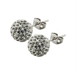 Candeur 8mm White Studs