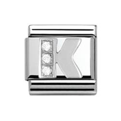 Buy Nomination SilverShine Letter 'K'
