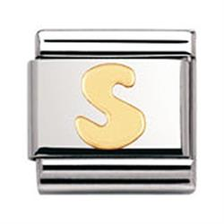 Buy Nomination Gold Letter S