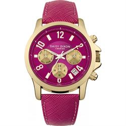Daisy Dixon Adriana Multidial with Fuchsia Leather Strap