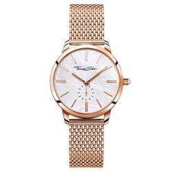 Rose Gold Glam Spirit Mesh Watch