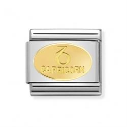 Buy Nomination Gold Capricorn Oval Zodiac Charm