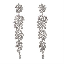 Laurel Crystal Earrings