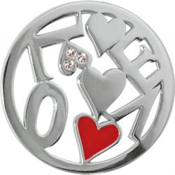 Silver Chaotic Love Coin 33mm