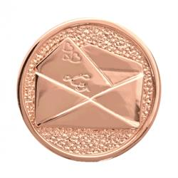 Love Letter Rose Gold Coin 33mm