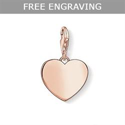 Thomas Sabo Rose Gold Heart Charm
