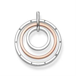 Thomas Sabo 3 Circle Two-Tone Penadnt Outlet