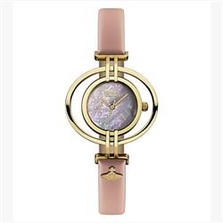 Oval Mother of Pearl Pink Watch