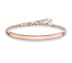 Love Bridge Rose Gold Bracelet Small
