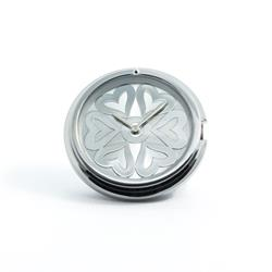 Silver Heart Medium Watch Coin