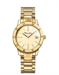 Yellow Gold Glam and Soul Watch 33mm by Thomas Sabo