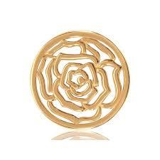 Buy Nikki Lissoni Gold Roses are Red Medium Coin 33mm
