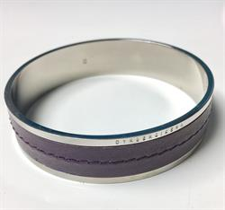 Sagittarius Bangle in Purple Size Small