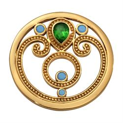Gold Emerald Dream Coin 33mm