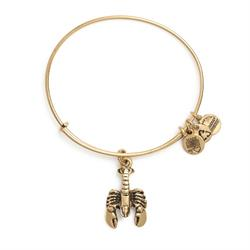 Buy Alex and Ani Lobster in Rafaelian Gold Finish
