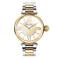 Yellow Gold and Sterling Silver Karma Watch