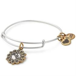 Virgo Two Tone Zodiac Bangle