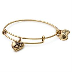 Cupid's Heart II bangle in Rafaelian Gold
