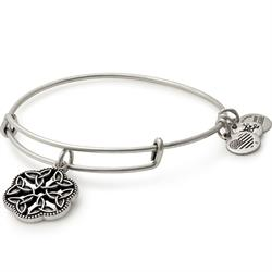 Endless Knot II bangle in Rafaelian Silver