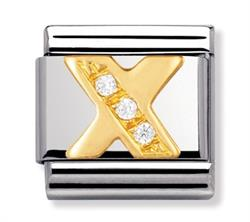 Buy Nomination Gold & CZ Letter X