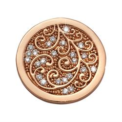 Rose Gold Flawless Coin 23mm